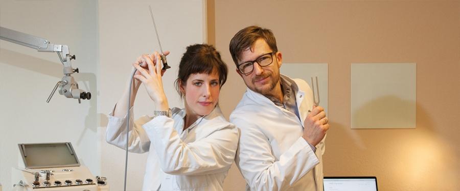 Foto Dr. Christine Löber, Dr. Carsten Brocks